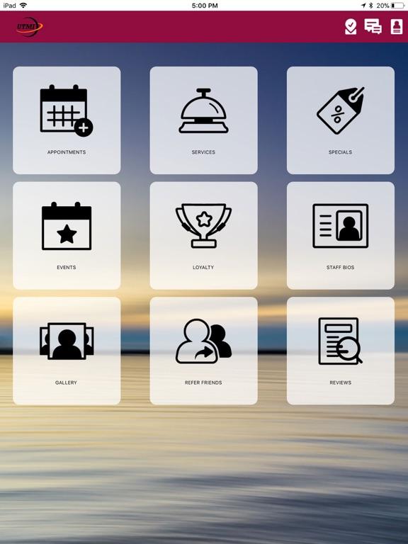 iPad Image of Universal Therapeutic Massage