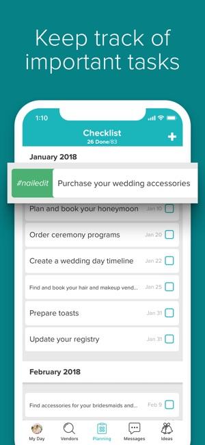 Wedding planner by weddingwire on the app store junglespirit Gallery
