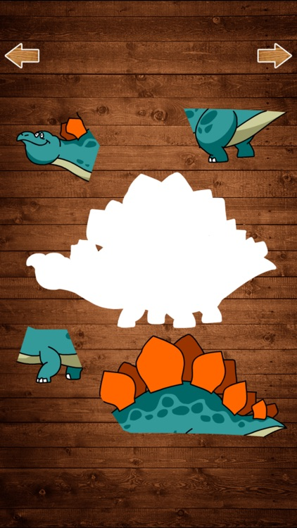 恐龙拼图游戏 - 恐龙乐园拼图世界游戏 screenshot-3
