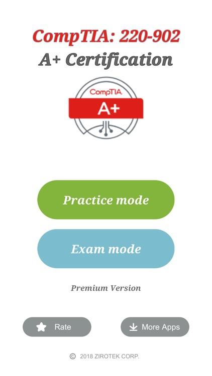 CompTIA A+ Exam (220-902)