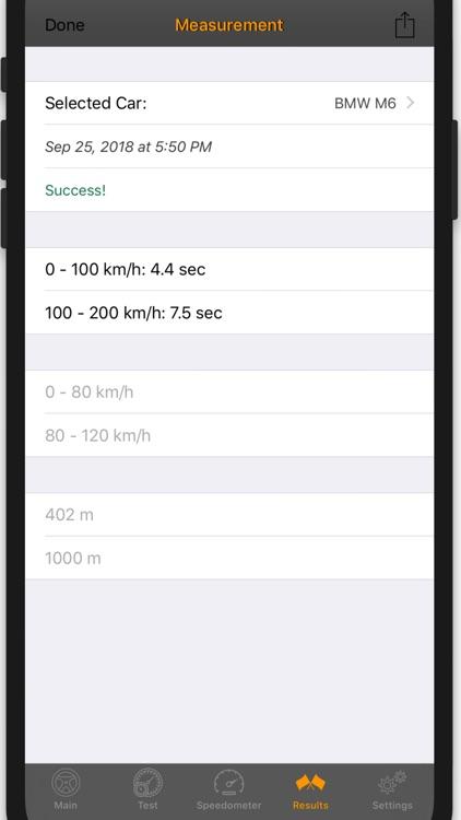 Test-Drive Lite: Speedometer screenshot-6