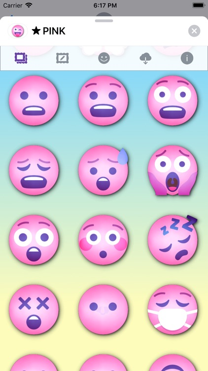 PINK Emoji • Stickers screenshot-4