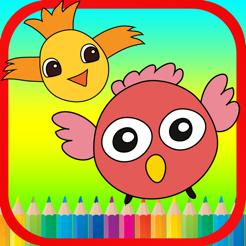 Egitim Icin Ucan Kus Boyama Kitaplari App Store Da