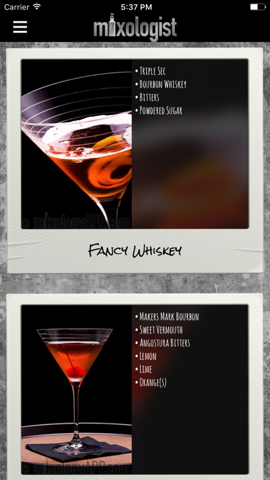 Mixologist™ Drink & Cocktail Recipes ScreenShot0