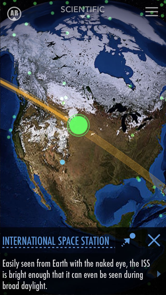 SkyView® Satellite Guideのおすすめ画像3