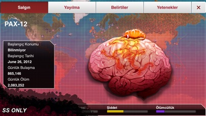 Screenshot for Plague Inc. in Turkey App Store