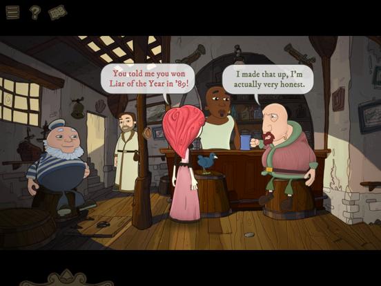 Nelly Cootalot: The Fowl Fleet Screenshots