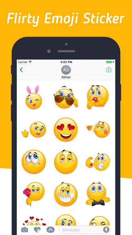 Trendy Emojis Stickers Pack
