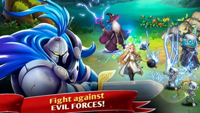Knights War: Heroes & Monsters Screenshot on iOS