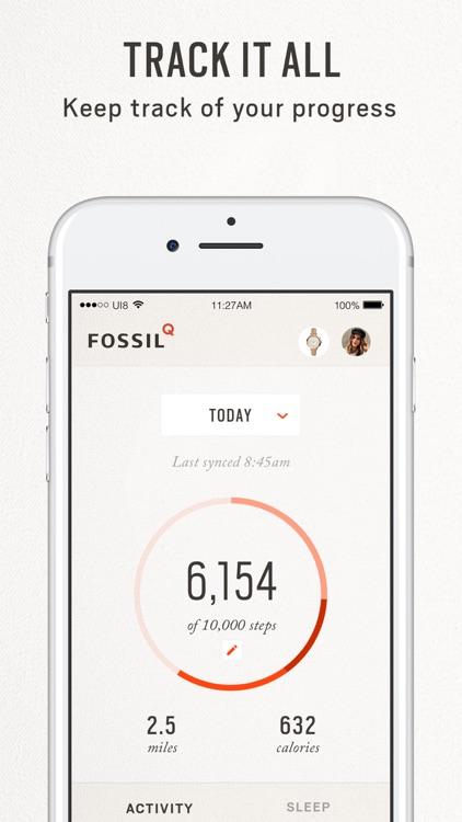 Fossil Q screenshot-4