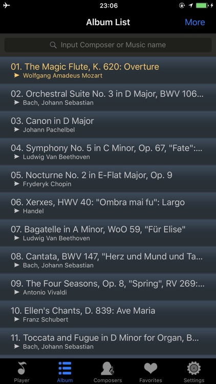 classical music player - master collection screenshot-3