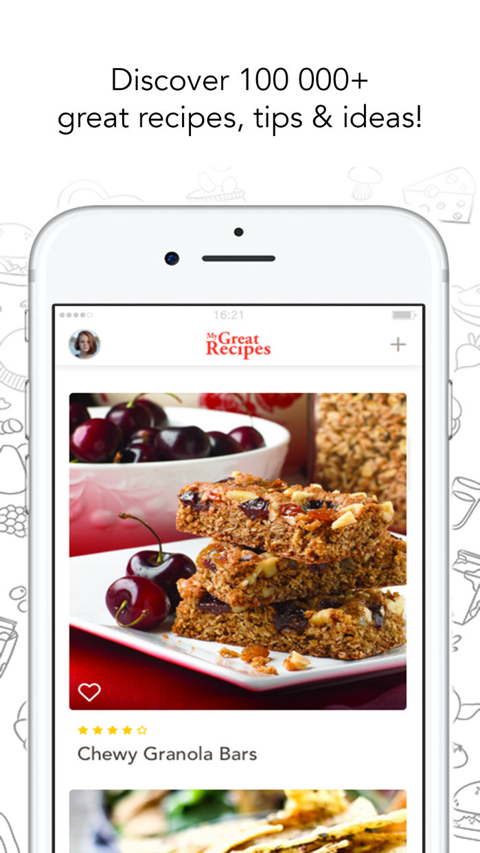 MyGreatRecipes! Screenshot