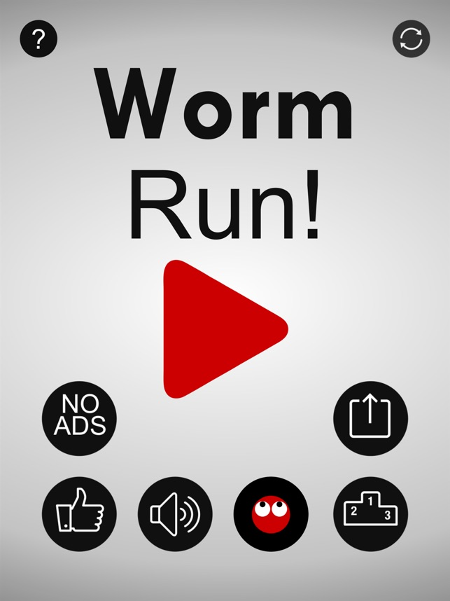 Worm Run! Screenshot