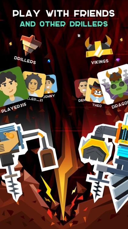 Drilla: Idle Gold Miner Game screenshot-3
