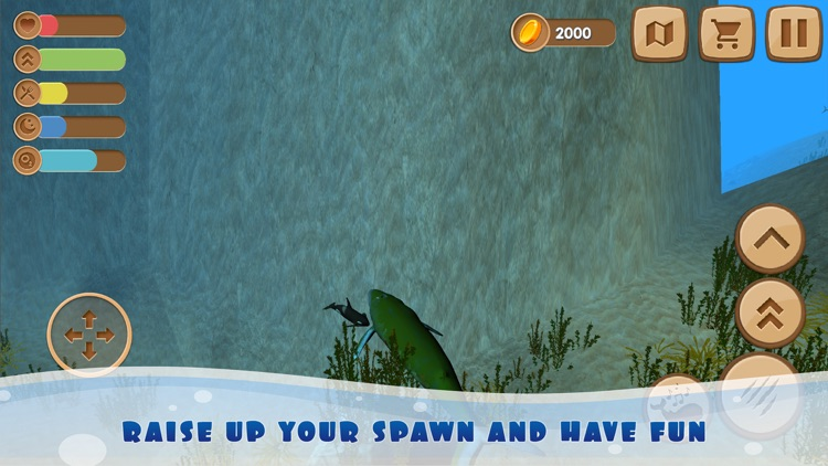 Big Whale Ocean Life Sim 3D screenshot-3