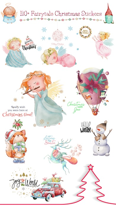 Fairytale Christmas Stickers screenshot 1