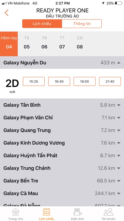 Galaxy Cinema screenshot-3