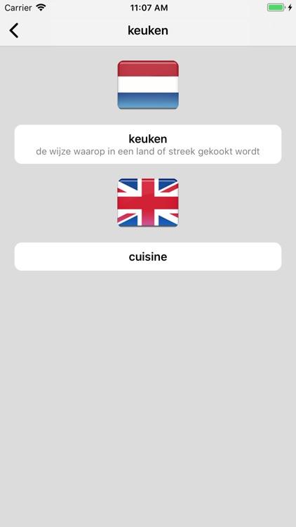 Dutch/English Dictionary screenshot-4