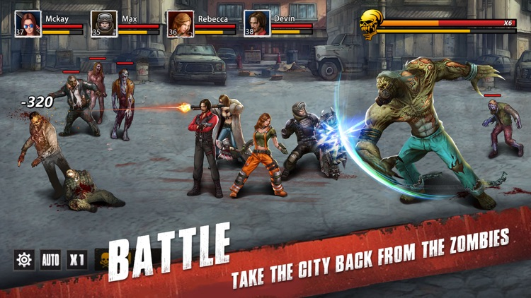 Zombie War: Apocalypse screenshot-2