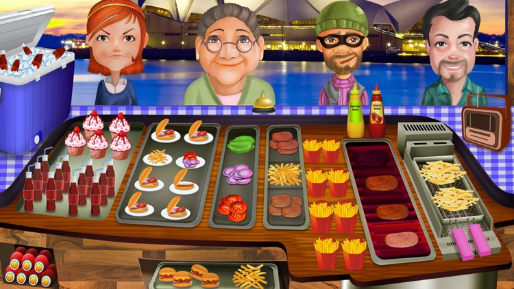 Fast Food Rush Cooking Games screenshot-3