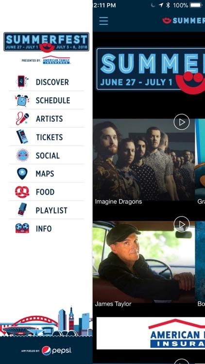 Official Summerfest 2018 App
