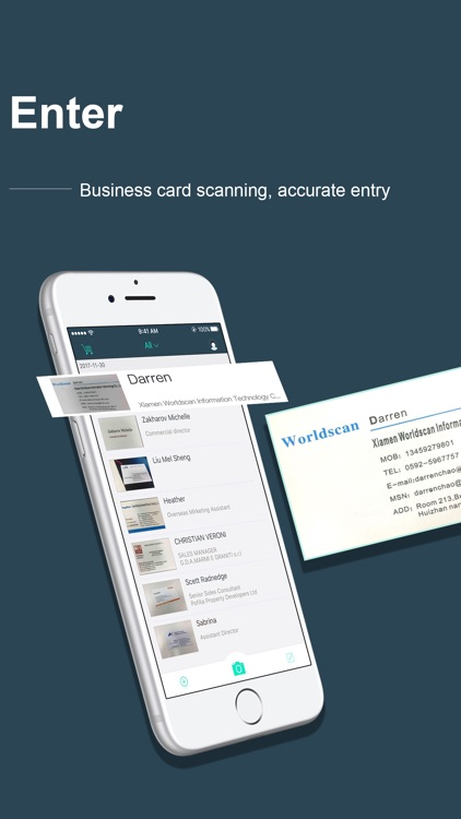 FoxCard&business card reader