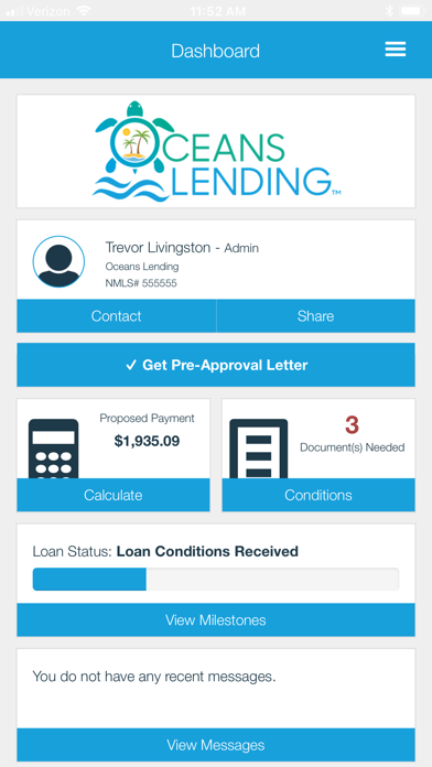 Oceans Lending screenshot two
