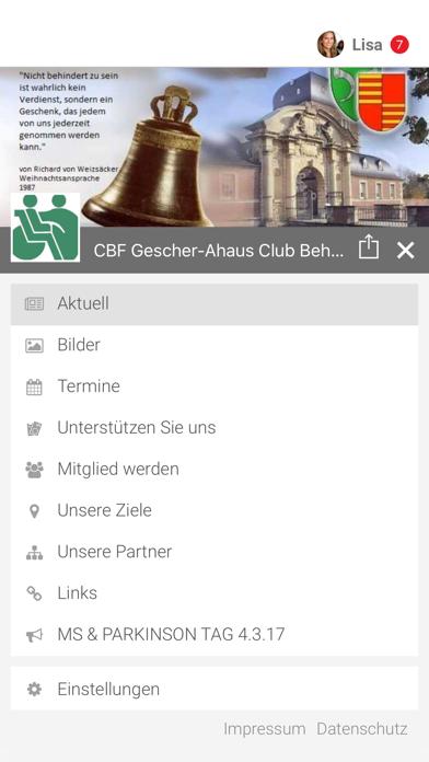 CBF Gescher-Ahaus e.V. screenshot 2