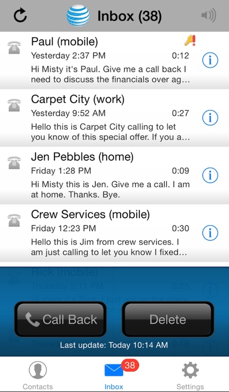 AT&T Voicemail Viewer (Home) Online Hack Tool
