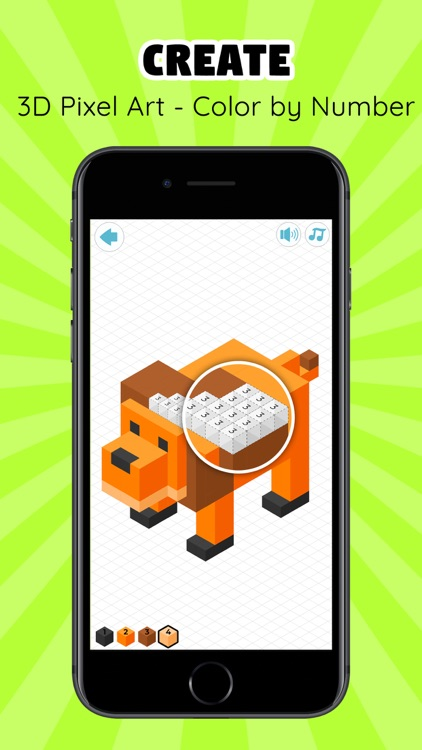 Poly & Pixel Art Games: Creato screenshot-0