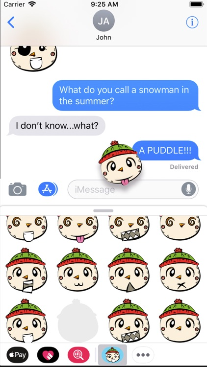 Little Snowman Sticker Pack