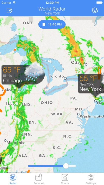 NOAA Radar - Weather & Alerts screenshot-0