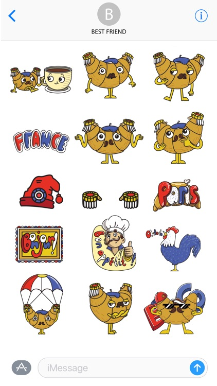 National French Stickers screenshot-3