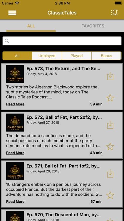 The Classic Tales App
