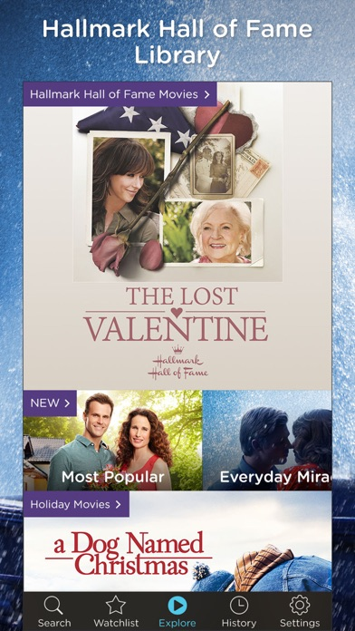 Hallmark Movies Now Screenshot