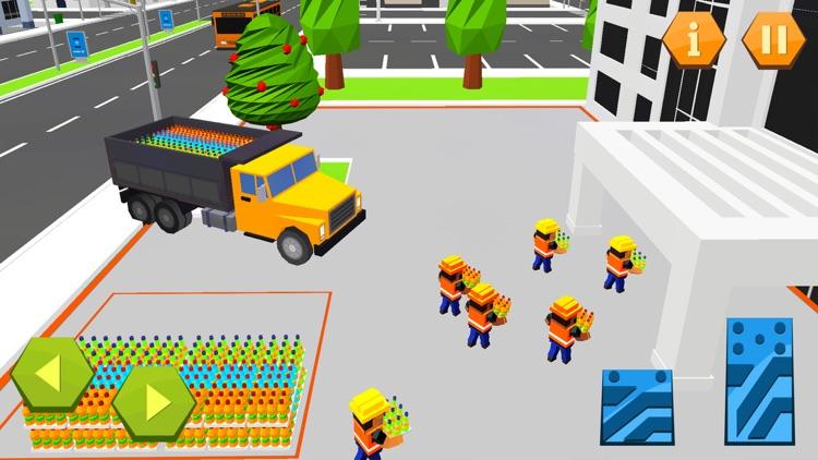 City Garbage Truck Recycle sim screenshot-4