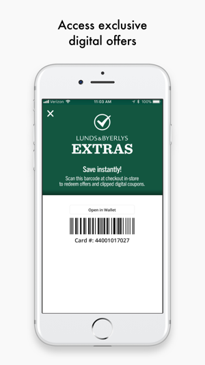 Lunds And Byerlys On The App Store