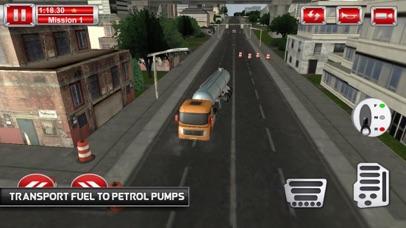 Tanks Oil Driving Mission 3D screenshot 3