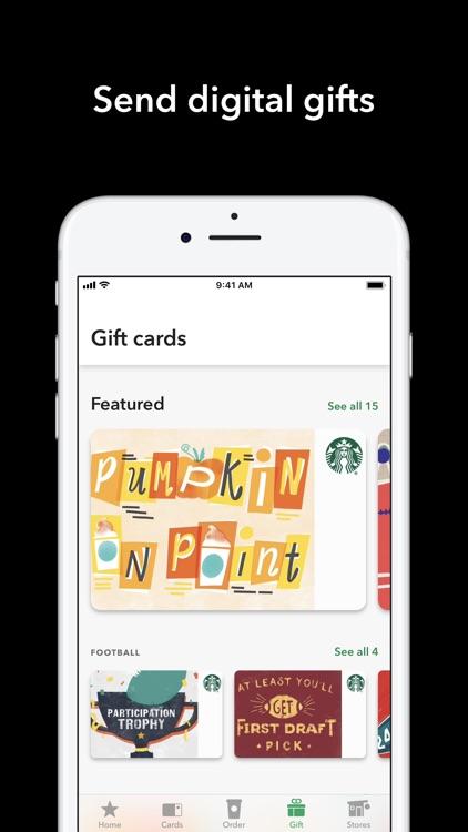 Starbucks screenshot-5