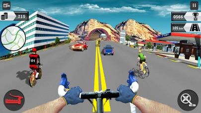 In Bicycle Racing on Highway screenshot 1