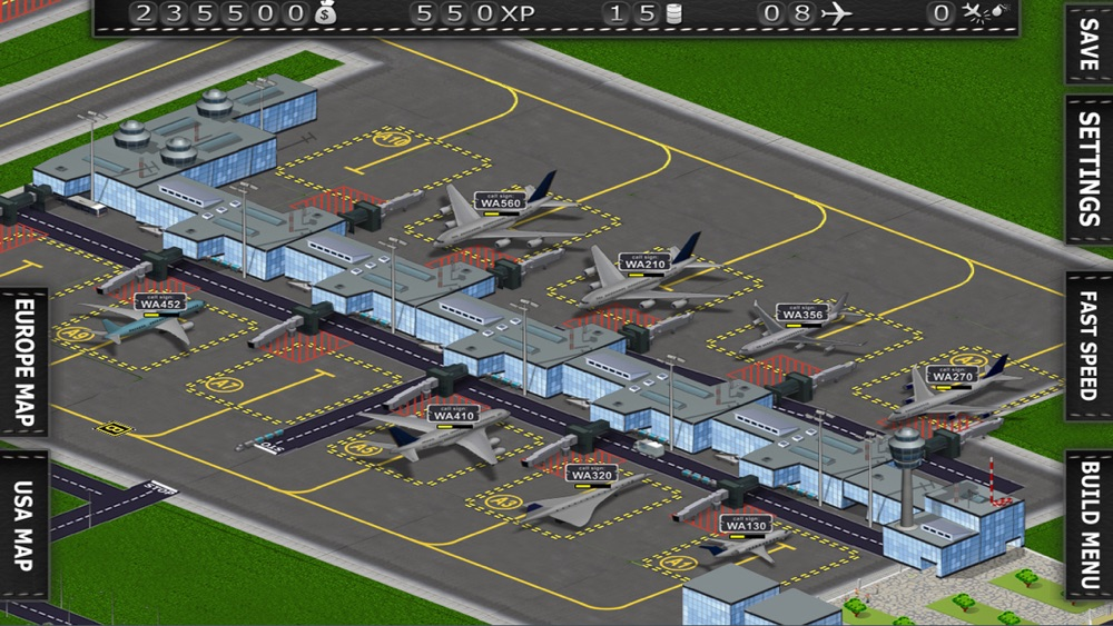The Terminal 2 Airport Builder