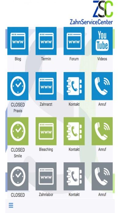 Zahn Service Center screenshot one