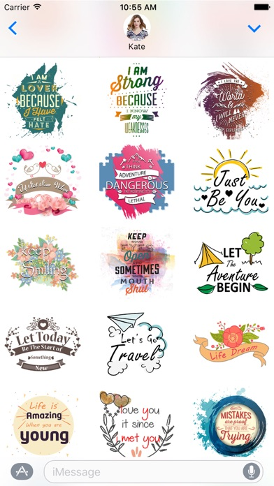 Vibes - Illustrated Stickers Pack for iMessage screenshot four
