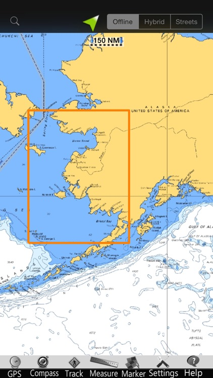 Alaska NW GPS Nautical Charts screenshot-4