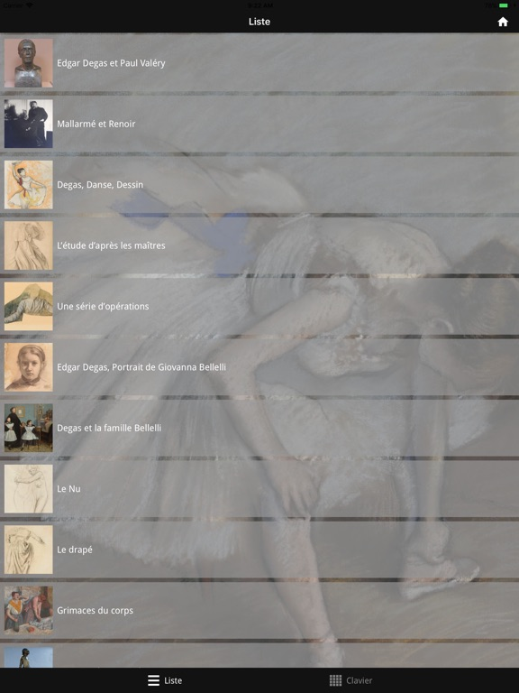Degas, Danse, Dessin screenshot 5