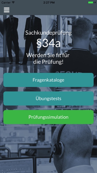 Screenshot for Sachkundeprüfung §34a in Germany App Store