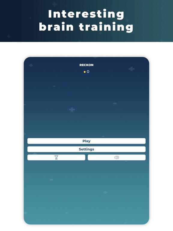 Reckon - brain training screenshot 7