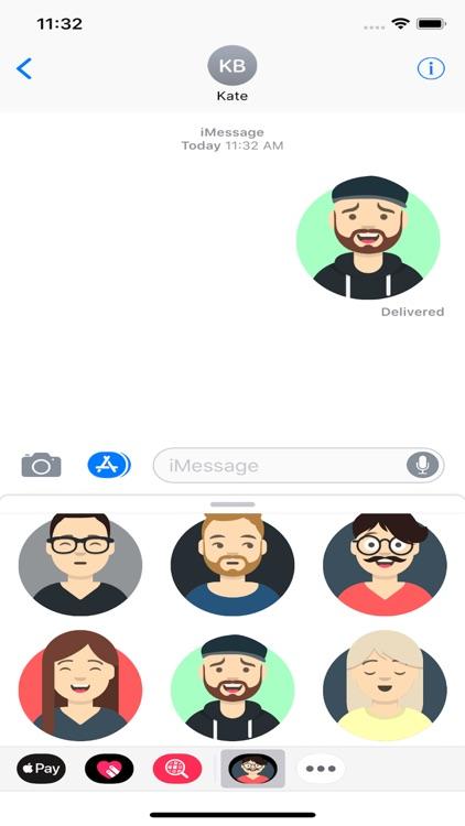 Phimoji: Emoji Stickers ® screenshot-3