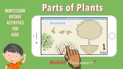 Learn Botany - Parts of Plants screenshot 1