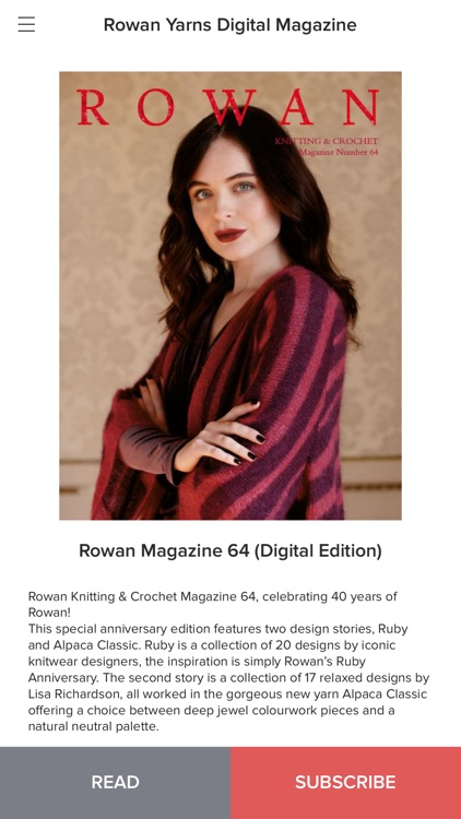 Rowan Yarns Digital Magazine screenshot-3